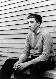 john updike academy of achievement american author and pulitzer prize winner john updike in a youthful portrait circa 1955