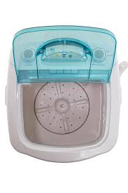miniwash portable electric washing machine product detail inside and top view