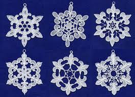 Free Snowflake Machine Embroidery Designs Floral Free Standing Lace Edging Machine Embroidery Set