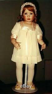 Nib Jeanne Singer Faith Porcelain Doll Limited Edition 16/25 22 ...