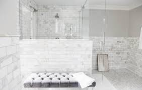 collection of marble bathroom ideas fabulous glass stall bathroom design with marble subway tiles decor