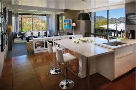 Open Floor Plan Kitchen Living Room Design Carameloffers - Open floor plan kitchen