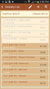 Typical Grocery List Typical Grocery List Barca Fontanacountryinn Com
