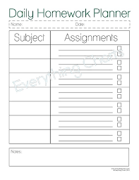 Free Student Planner Template Plus Student Daily Planner Free ...