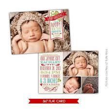 Baby Announcement Christmas Card Tirevi Fontanacountryinn Com