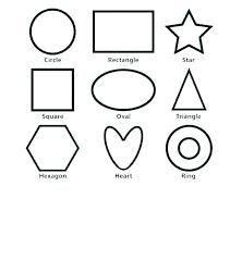 triangle printable worksheets for preschoolers