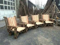 outdoor rustic chairs thrones patio dining sets picnic tables furniture new ta