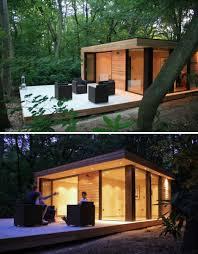 creative garden pod home office. (images Via: Design Milk). The Garden Office Creative Pod Home S