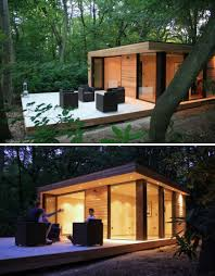 outdoor home office. (images via: design milk). the garden office outdoor home