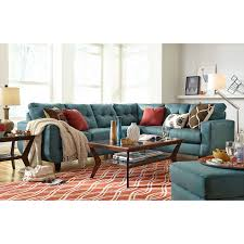 Value City Living Room Sets West Village 2 Piece Sectional Blue Value City Furniture