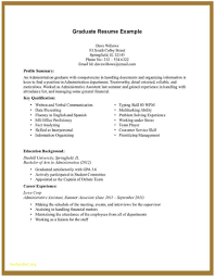 Sample Resume For Administrative Assistant Awesome Sample Resume For Administrative Assistant With No 77