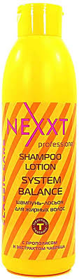 Nexxt Professional <b>Шампунь</b>-<b>лосьон , для жирных волос</b>, 1 л
