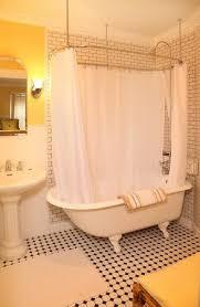 lilac inn albert s room clawfoot tub shower