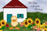 Grußkarten Umzug Eigenheim Glückwünsche Zu Wohnung Und Haus