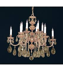 crystorama 2512 ob gts oxford 12 light 30 inch olde brass chandelier ceiling light in golden teak swarovski