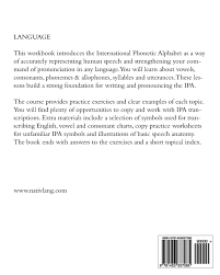 In this quiz practice select the name of the picture from the list. The Ipa For Language Learning An Introduction To The International Phonetic Alphabet Rudder Joshua 9781453837085 Books Amazon Ca