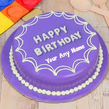 Happy Birthday Cake With Name Images Editor Edit Photo