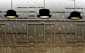 hats off jeeves and wooster pendant lights by jake phipps 1