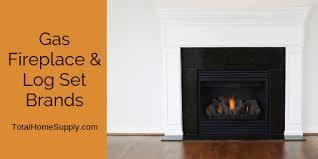 gas fireplace brands and log set brands