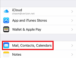 How To Change Email Settings And Password On The Iphone Help Centre