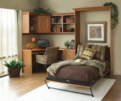 40 Versatile Home Offices That Double As Gorgeous Guest Rooms Simple Home Office Bedroom Combination Decor Collection