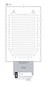 Utc Seating Chart Fine Arts Center Seating Maps