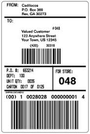 Shipping Label Template Within Shipping Label Template Word Free