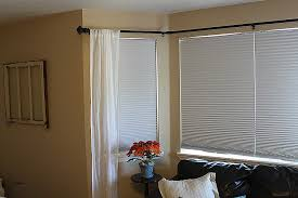 bay window curtain poles for eyelet curtains elegant bay window curtain rod you can add stainless