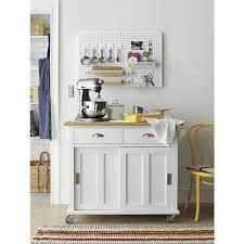 crate barrel belmont kitchen island in white home appliances on carou