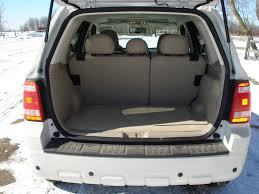 Image: Ford Escape Hybrid Cargo Space (Seats Up), size: 1024 x 768 ...