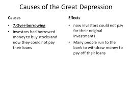 causes of the great depression essay cause and effect of the great  causes and effects of the great depression essay gxart orgcauses and effects of the great