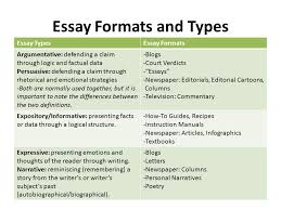 what is an essay definitions quotes types and parts writing  5 essay formats and types