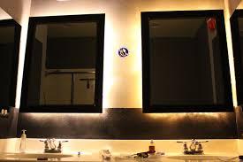 light up bathroom mirror