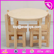 china whole primary school wooden kids round table and chairs for study w08g232 china kids desk chairs school furniture suppliers