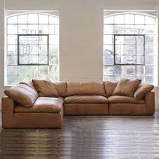 tan leather couch. Andrew Martin Truman Sectional Sofa - Tan Leather | Moduler Beut.co.uk Couch
