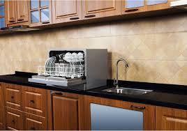 amazing portable countertop dishwasher