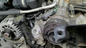 2004 Chevy Silverado 6.6 diesel turbo water pump replacement - YouTube
