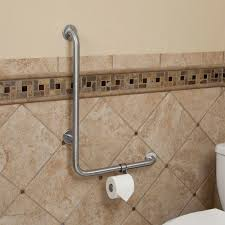safety bars for bathroom. The Beautiful Stainless Steel Finish Will Add Perfect Touch To Your Bathroom Or Powder Room.920128Signature Hardware. Grab Bars 89.95 Safety For