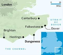 Image result for map sea dover dungeness