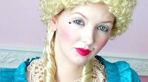 historically accurate 18th century marie antoinette makeup tutorial you