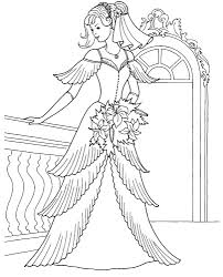 Barbie Girl Coloring Pages Games Fresh Wedding Princess Coloring