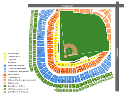 Cubs Wrigley Field Seating Chart Sports Simplyitickets