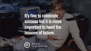 Success And Failure Quotes Classy 48 Inspiring Bill Gates Quotes On Success And Life