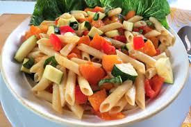 Salad Chart Apricot Pasta Salad