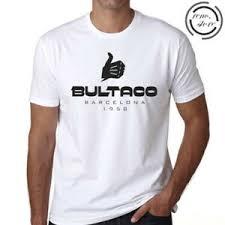 Details About Bultaco Motorcycles Barcelona 1958 Logo White T Shirt Size S M L Xl 2xl 3xl