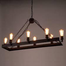 8 light wrought iron industrial style lighting fixtures pertaining regarding rustic iron chandelier renovation