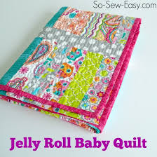 My first (and last?) quilt is finished - So Sew Easy & Beginner quilt - my first ever quilt. A jelly roll baby quilt. Adamdwight.com