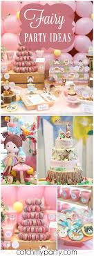 Fairy Birthday Party Decorations 17 Best Images About Fairy Party On Pinterest Themed Birthday