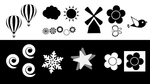 cool black and white designs. Fine White Baby Sensory  Black U0026 White Animation Shapes And Patterns Infant Visual  Stimulation YouTube Inside Cool And Designs