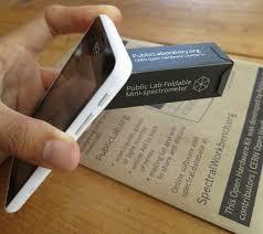 foldable mini spectrometer